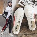 canvas shoe Warrior / Huili Low Gang White red white gray white blue black and white 3435363738394041424344 Spring of 2018 Frenulum leisure time rubber Solid color Youth (18-40 years old) 20180329W988U