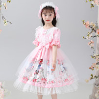 Dress female Osfans / osvance 110cm 120cm 130cm 140cm 150cm 160cm 170cm Other 100% summer princess Short sleeve Cartoon animation other A-line skirt LA2005-1 Class B Spring 2021 Chinese Mainland