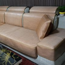 Sofa cover / towel Coffee flower ice silk sofa hat dark color ice rattan sofa hat coffee color ice rattan sofa hat grey ice rattan sofa hat Beige ice rattan sofa hat Combination suit Modern Chinese style Solid color Sectional sofa Others Many 16 new summer mat sofa hat