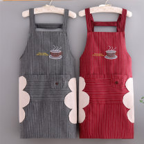 apron Sleeveless apron waterproof Korean version pure cotton Personal washing / cleaning / care Average size CM-130 Mandameng public yes like a breath of fresh air
