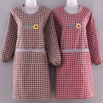 apron Sleeve apron waterproof Korean version pure cotton Personal washing / cleaning / care Average size TAI-1127 Mandameng public yes like a breath of fresh air