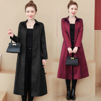Women's large Autumn 2020 Dark green, black, pink, blue, plum red, scarlet L (recommended 100-115 kg), XL (recommended 115-130 kg), 2XL (recommended 130-145 kg), 3XL (recommended 145-160 kg), 4XL (recommended 160-180 kg), 5XL (recommended 180-200 kg) Windbreaker singleton  commute easy moderate other