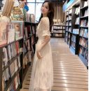 Dress Summer 2021 Apricot, pink, black S,M,L,XL Mid length dress singleton  Short sleeve commute Solid color Socket routine 18-24 years old Korean version Stitching, bead nailing, mesh 30% and below