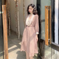 Dress Spring 2020 Picture color Average size Miniskirt Two piece set elbow sleeve commute other other Others Other / other