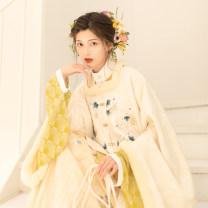 Hanfu 81% (inclusive) - 90% (inclusive) Autumn 2020 S,M,L,XL polyester fiber