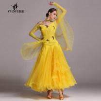 Modern dance suit (including performance clothes) Elaine freer Waltz Tango Foxtrot female S M L XL XXL other -230