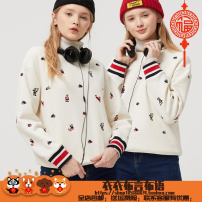 Sweater / sweater Winter 2020 160/S,165/M,170/L Long sleeves routine Socket singleton  routine Crew neck Straight cylinder commute routine Cartoon animation 18-24 years old 51% (inclusive) - 70% (inclusive) Britain cotton thread cotton Cotton liner