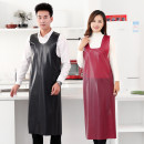 apron There are three kinds of skirt: red waistcoat, purple waistcoat, black waistcoat, yellow waistcoat, camouflage waistcoat, purple waistband, and red waistband Sleeveless apron waterproof Simplicity other Household cleaning Average size public no