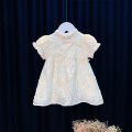 Dress Apricot, pink female Other / other 80cm,90cm,100cm,110cm,120cm Cotton 95% other 5% summer princess Short sleeve other Cotton blended fabric Princess Dress MC95218 12 months, 6 months, 9 months, 18 months, 2 years, 3 years, 4 years