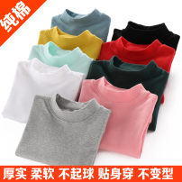 T-shirt neutral spring and autumn Long sleeves Crew neck leisure time There are models in the real shooting nothing cotton Solid color Cotton 96.2% polyurethane elastic fiber (spandex) 3.8% 8090-1 Class A Sweat absorption Chinese Mainland Guangdong Province Dongguan City