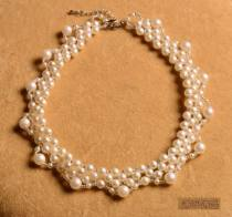 Necklace Pearl oyster 51-100 yuan 3Q milky white brand new Japan and South Korea female goods in stock yes Fresh out of the oven no Below 10 cm other