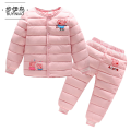 Cotton padded jacket neutral No detachable cap Cotton 96% and above Troy Pink red blue light blue light green 90cm 907585cm 1008595cm 11095105cm 120105115cm 130115125cm routine Single breasted Cartoon No model Cartoon animation Crew neck Flax 100% Cotton liner BtfMS Flax 100% Chinese Mainland