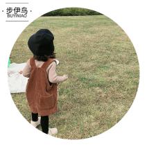 Dress female Troy 80cm 90cm 100cm 110cm 120cm 130cm 140cm Cotton 80% other 20% Korean version Strapless skirt Solid color Strapless skirt Class B Spring 2020 12 months, 18 months, 2 years old, 3 years old, 4 years old, 5 years old, 6 years old, 7 years old and 8 years old Chinese Mainland Lishui City