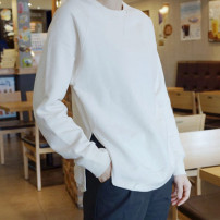 Sweater / sweater Spring 2020 Off white, light grey, black One size fits all 12 days, one size fits all spot Long sleeves have cash less than that is registered in the accounts Socket singleton  routine Crew neck Straight cylinder street raglan sleeve Solid color 30-34 years old 96% and above cotton