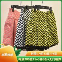 Casual pants Yellow, white, rose red 1,2(M),3(L),4(XL),5(XXL) 0125KH913