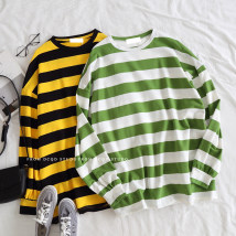Sweater / sweater Autumn of 2018 Yellow green Average size Socket routine singleton  routine Crew neck easy commute routine 31% (inclusive) - 50% (inclusive) Retro