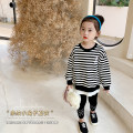Sweater / sweater Peach cream black neutral 90cm,100cm,110cm,120cm,130cm,140cm spring and autumn nothing Korean version Socket routine There are models in the real shooting other stripe Class A