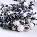Other DIY accessories Loose beads Black and white zebra stone 10-19.99 yuan One 4mm one 12mm one 10mm one brand new Online gathering features Yaye TR84