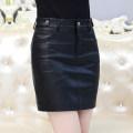 skirt Spring 2021 S,M,L,XL,2XL,3XL,4XL,5XL black Short skirt commute High waist skirt Solid color Type H 25-29 years old Other / other zipper Korean version