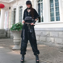 Fashion suit Summer 2021 S,M,L,XL black Other / other IN80008 90008 71% (inclusive) - 80% (inclusive) cotton