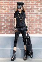 Fashion suit Summer 2021 S,M,L,XL black Other / other Clothes 390 - Pants 990 suit 51% (inclusive) - 70% (inclusive) cotton