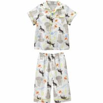 Home suit Combi / combe 80cm 90cm Beige Cotton 100% 12 months 18 months 2 years 3 years old cotton Autumn 2020