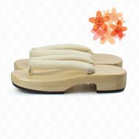 slipper 35-36 yards   23cm   37-38 yards   24cm   39-40 yards   25cm  Brnisrn / Polis Flat heel Low heel (1-3cm) cloth Summer 2015 flip flops EVA Home