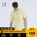 T-shirt Youth fashion GYD / gray yel / yellow whx / white routine S M L XL izzue Short sleeve other standard Other leisure IZXTEN1194U0E Cotton 100% Summer 2020 Same model in shopping mall (sold online and offline)
