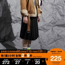 skirt Autumn of 2018 XS S M L XL BKX / Black RDX / red Mid length dress Natural waist IZXSKC9900W8B 81% (inclusive) - 90% (inclusive) izzue acrylic fibres Polyacrylonitrile 84.8% wool 15.2% Same model in shopping mall (sold online and offline)