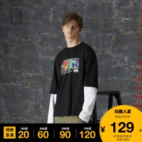T-shirt Youth fashion BKX / black whx / white routine S M L XL XS UNDER GARDEN Long sleeves other standard Other leisure Cotton 100% Autumn 2020 Same model in shopping mall (sold online and offline)