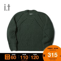 Wool knitwear Autumn of 2019 XS S M Grx / Green PPX / Brown YEx / yellow Long sleeves other More than 95% Regular BCXKN9F0362ID b+ab Polyester 100% Same model in shopping mall (sold online and offline)