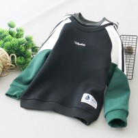 Sweater / sweater Other / other male 110, 120, 130, 140, 150, 160 winter No detachable cap leisure time Socket Plush No model cotton other Cotton 95% polyurethane elastic fiber (spandex) 5% Class B