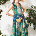 Dress Spring 2021 Decor S,M,L longuette singleton  Sleeveless commute High waist Decor Socket Big swing camisole 30-34 years old Miccbeirn Simplicity ZHK82850A
