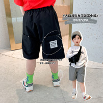 trousers A Xiaoxuan male 90cm, 100cm, 110cm, 130cm, 140cm, 150cm, 120 (Xiaoxuan size) Grey panties, black panties spring and autumn Pant There are models in the real shooting Casual pants other Don't open the crotch Chinese Mainland Jiangsu Province Nanjing City