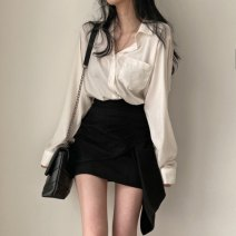 Fashion suit Spring 2021 S. M, average size Shirt, skirt 18-25 years old 30% and below
