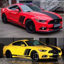 Car decoration stickers Stickers Body stickers Jin zherei Mustang body stickers Support customization other