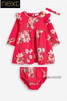 Dress No return, no exchange (558-410) female Next 0-1 months (56cm), 0-3 months (56-62cm), 3-6 months (62-68cm), 6-9 months (68-74cm), 9-12 months (74-80cm), 12-18 months (80-86cm), 1.5-2 years (86-92cm), 2-3 years (92-98cm) Cotton 95% polyurethane elastic fiber (spandex) 5% No season Long sleeves