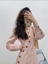 Dress Summer 2021 Pink S,M,L