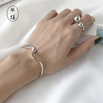 Bracelet Silver ornaments 101-200 yuan Other / other 925 Sterling Silver brand new Original design Not inlaid 925 Silver