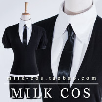 Cosplay women's wear suit Customized Over 14 years old Jumpsuit + shirt + tie (belt) comic 50. M, s, XL, XXL, customized MILK COS The land of gems