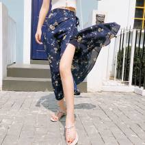 skirt Summer 2020 One size fits all Blue chrysanthemum, green chrysanthemum, black chrysanthemum, clover, little daisy A skirt Other / other