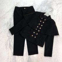 Fashion suit Spring 2021 S,M,L black 25-35 years old Duanshang 51% (inclusive) - 70% (inclusive)