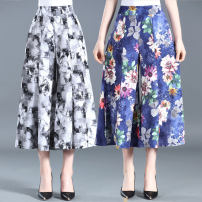 Middle aged and old women's wear Summer 2020 1, 2, 3, 4 XL,XXL,3XL,4XL fashion trousers easy singleton  Decor 40-49 years old thin Other / other other 51% (inclusive) - 70% (inclusive) 7 / 9 pants