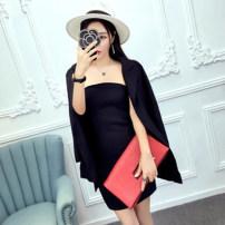 Fashion suit Spring 2021 S,M,L White, black 51% (inclusive) - 70% (inclusive) polyester fiber