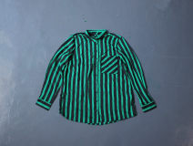shirt green 32,34,36,38,40,42 polyester fiber 96% and above