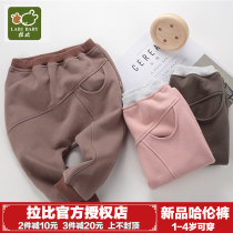 trousers Labi baby / Rabbi neutral 73cm 80cm 90cm 100cm 110cm Rose red grey green Khaki Other 100% LQCBZ14007- Class A LQCBZ14007-