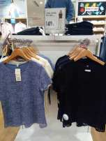 T-shirt Blue, white, black, navy S,M,L Spring 2021 other 30% and below 18-24 years old