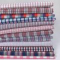 Fabric / fabric / handmade DIY fabric cotton 1 # grid, 2 # grid, 3 # grid, 4 # grid, 5 # grid, 6 # grid, 7 # grid, 8 # grid, 9 # grid, 10 # grid Loose shear rice Geometric pattern Yarn dyed weaving clothing Chinese style 100%