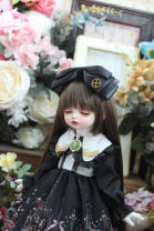 BJD doll zone Dress 1/4 Over 3 years old goods in stock Four giant baby MSD, six, big six, salon, small cloth, 20 cm cotton doll, 40 cm cotton doll, 15 cm cotton doll, star Delu s