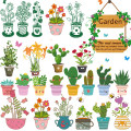 Wall stickers PVC large Flat wall sticker Waterproof wall sticker Zhang Others 1 tablet Plants and flowers other Living in dream